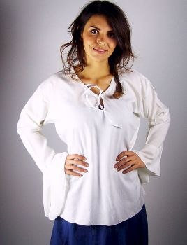 2107 Bluse weiss