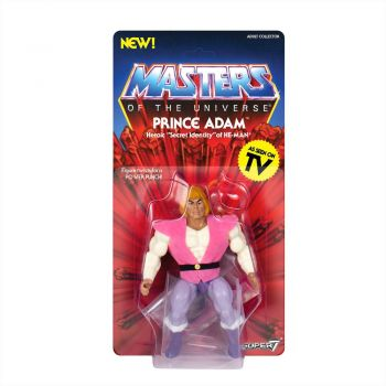 Masters of the Universe - Vintage Collection Actionfigur Prince Adam 14 cm