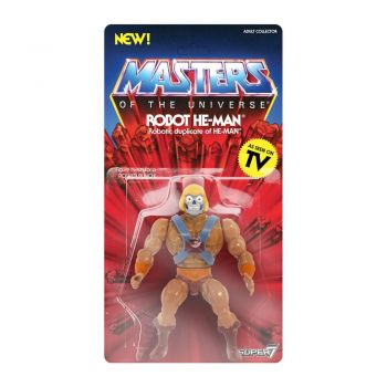 Masters of the Universe - Vintage Collection Actionfigur Robot He-Man 14 cm