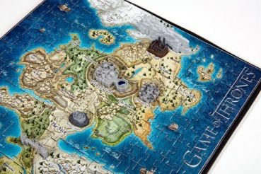 Game of Thrones 3D Puzzle Mini Westeros (340 Teile) a