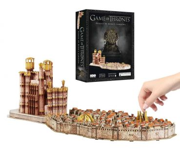 Game of Thrones 3D Puzzle King's Landing (260 Teile)
