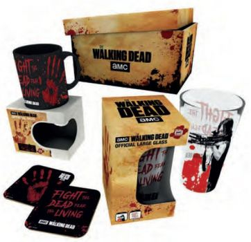 Walking Dead Geschenkbox Bloody Hand
