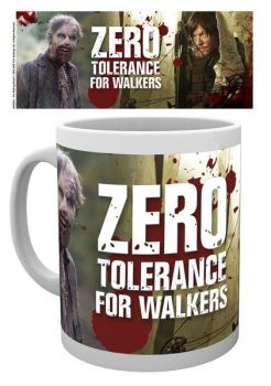 Walking Dead Tasse No Tolerance For Walkers