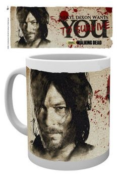 Walking Dead Tasse Daryl Needs You