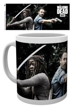 Walking Dead Tasse Rick & Michonne
