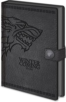 Game of Thrones Premium Notizbuch A5 Stark
