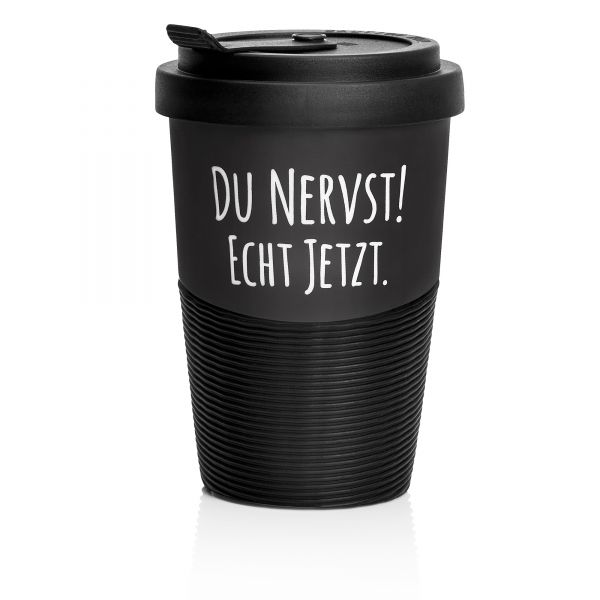 "Pechkeks - Coffee-to-go Becher ""Du nervst!"""