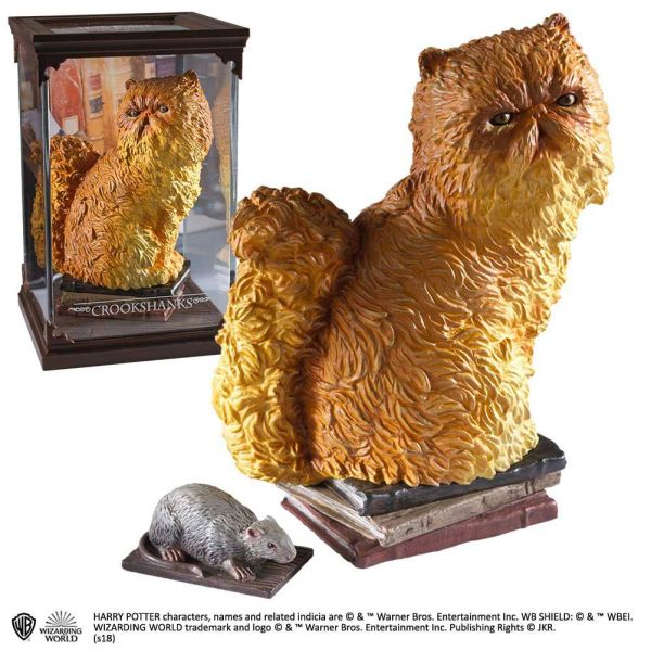 Harry Potter Magical Creatures Statue Crookshanks 18 cm