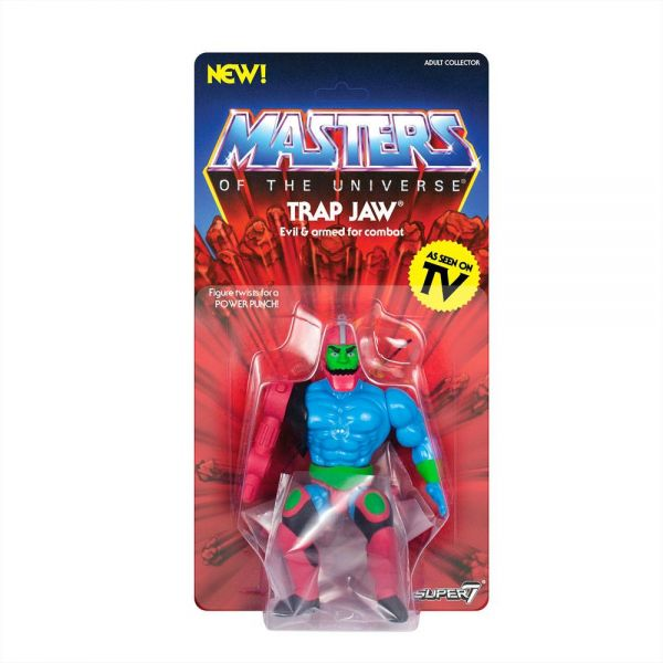 Masters of the Universe - Vintage Collection Actionfigur Trap Jaw 14 cm