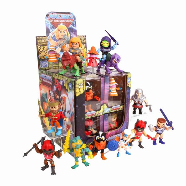 Masters of the Universe Action Vinyls Minifiguren 8 cm Wave 2