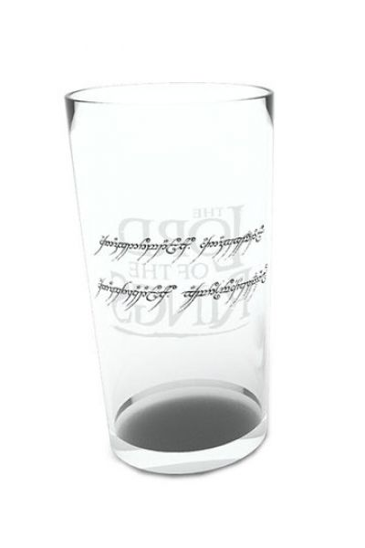 Herr der Ringe Glas Inscription a