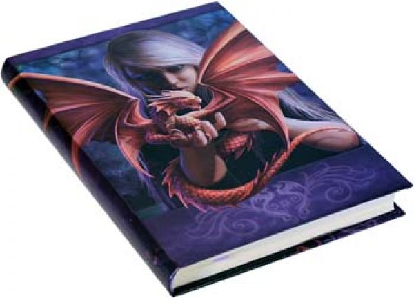 Notizbuch Embossed Dragonkin by Anne Stokes