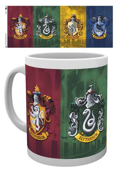 Harry Potter Tasse All Crests