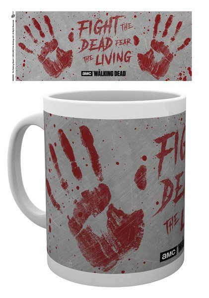 Walking Dead Tasse Hand Prints