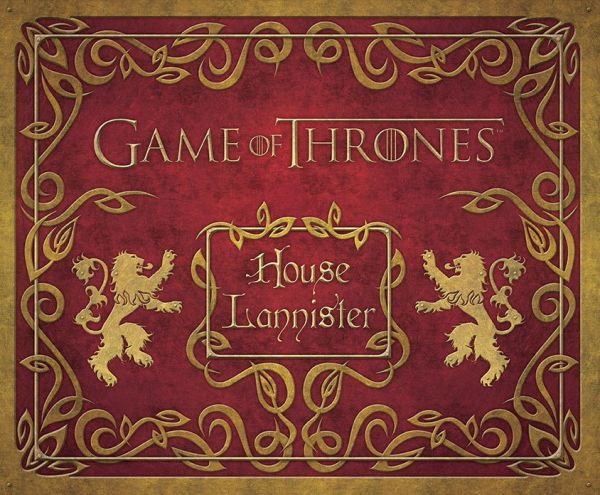 Game of Thrones Deluxe Schreibwaren-Set House Lannister a