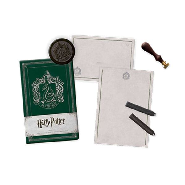 Harry Potter Deluxe Schreibwaren-Set Slytherin